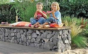 Gabionen Gartengestaltung Bilder : gabionen f r garten und hochbeet ~ Whattoseeinmadrid.com Haus und Dekorationen