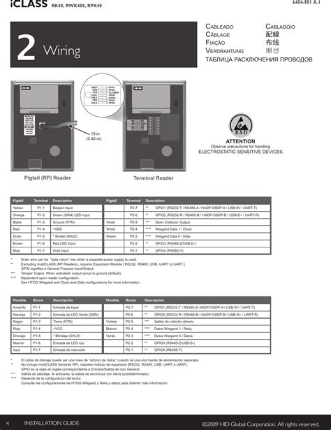 rpk40c rfid reader keypad user manual iclass keypad installation guide hid global