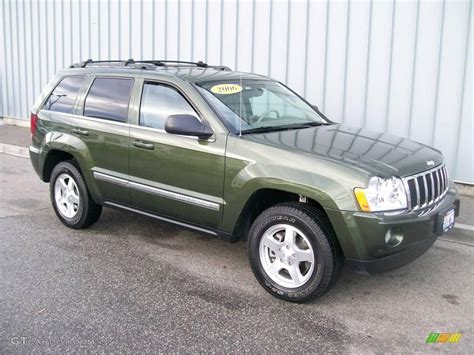jeep metallic 2006 jeep green metallic jeep grand cherokee limited 4x4