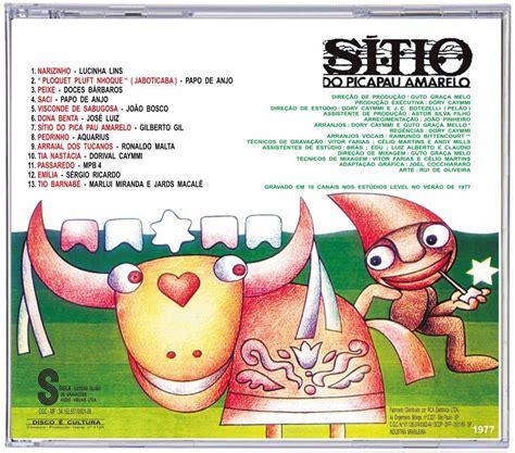 Cd Sítio Do Pica Pau Amarelo 1977 Série Colecionador R