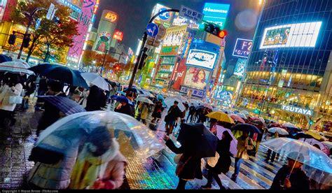 tokyo rainy things