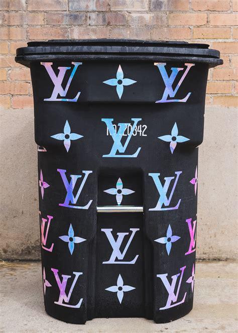 Louis Vuitton + The House That Lars Built Trash Can