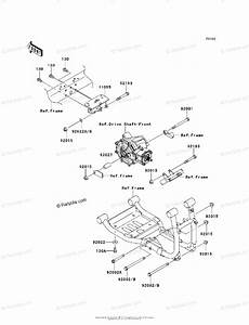 Kawasaki Side By Side 2013 Oem Parts Diagram For Engine Mount