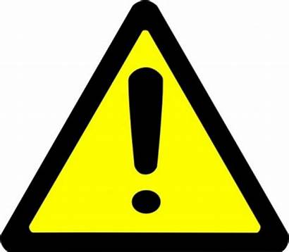 Caution Sign Clipart Clip Signs Danger Warning