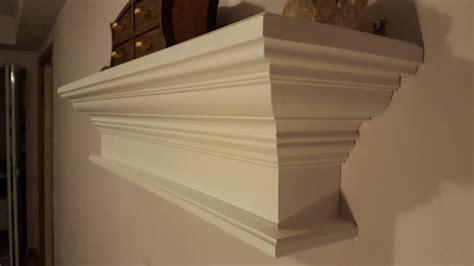 Crown Molding Shelf In White
