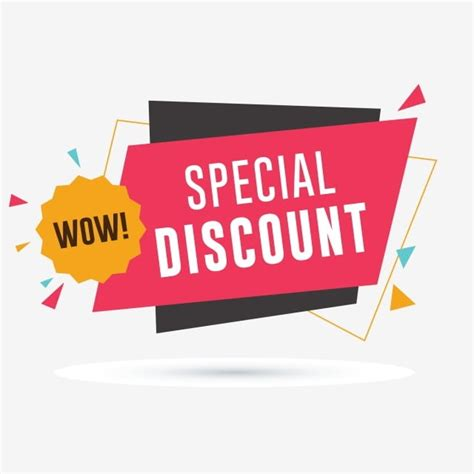 Special Discount Banner, Sale, Discount, Badge PNG and ...