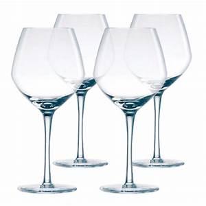 Verre A Pied Noir : visuel verre a vin luminarc vaisselle maison ~ Teatrodelosmanantiales.com Idées de Décoration