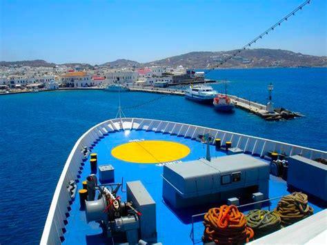 Boat From Athens To Mykonos by Mykonos A Review By Matt Barrett