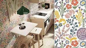 faut il oser le papier peint dans la cuisine With papier peint lessivable pour cuisine