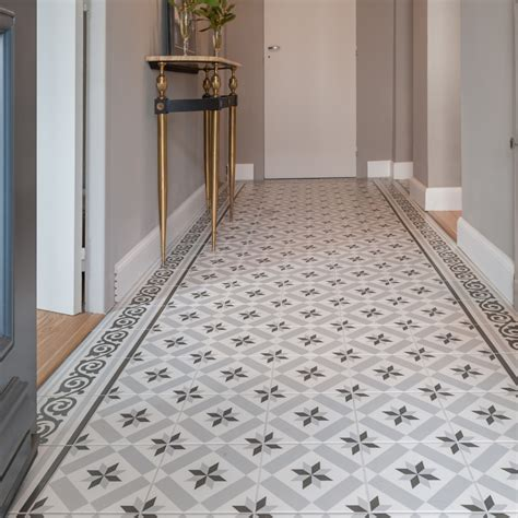 Carrelage Imitation Carreau De Ciment Bleu by Mixer Parquet Chevron Et Carreaux De Ciment Saint Maclou