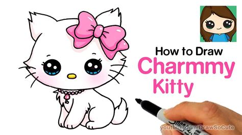 draw  cute cat easy sanrio charmmy kitty cumseface