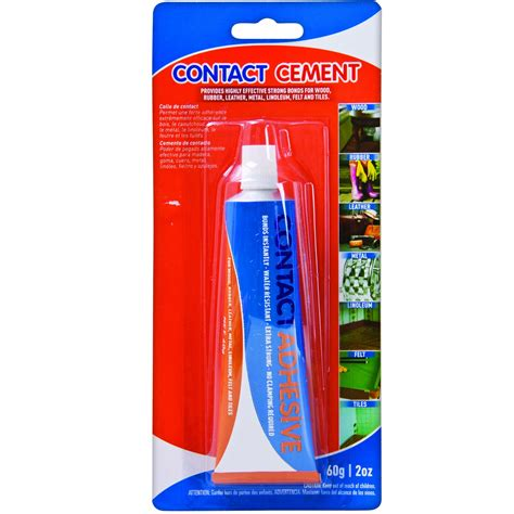 water resistant contact cement quick bonding adhesive