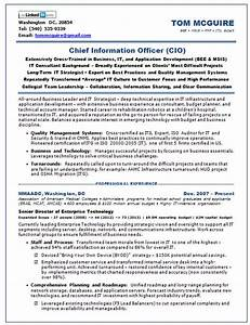 Resume samples chief information officer saas for Saas resume samples