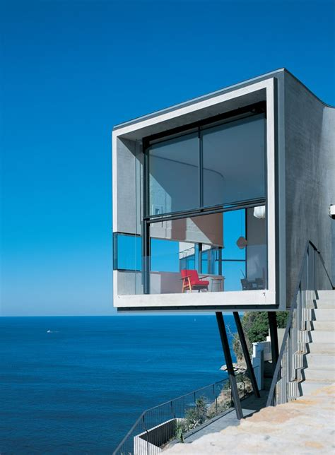 dramatic cliffside house  dover heights idesignarch interior design architecture