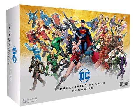 Dc Comics Deck Builder Expansion by Dc Comics Deck Building Multiverse Box Expansion