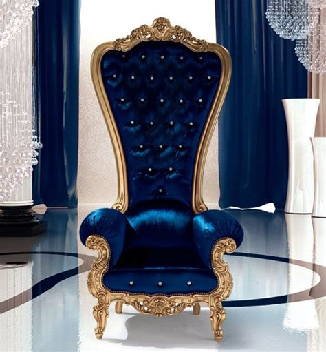 King Furniture Armchair by Caspini Drops Royal Throne Armchairs For Us Commoners