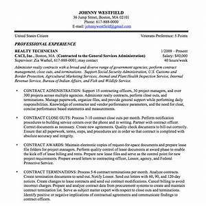 Federal resume sample and format the resume place for Federal resume format