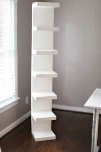 ikea desk corner shelf guest room bedside shelving unit for the home