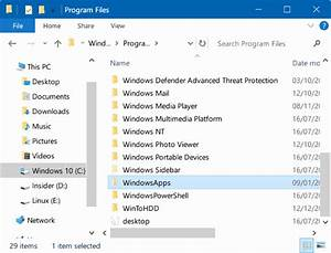 how to access windowsapps folder in windows 10 With documents app windows 10