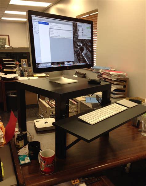 Ikea Computer Desk Hack by Wednesday 9 18 13 Crossfit 626 Pasadena