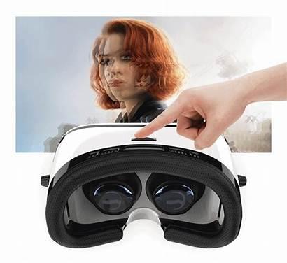 Vr Headset 3d Giphy Virtual Reality Box