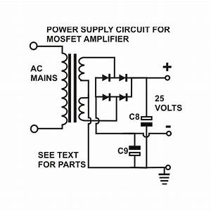 how to build a 100 watt mosfet amplifier circuit simple With power supply pcbpower supply pcb circuit board 12vpower supply pcb