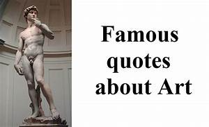 Famous Quotes about Art - YouTube