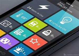 Samsung Smart Home : use of flat design in mobile app interfaces best examples designmodo ~ Buech-reservation.com Haus und Dekorationen