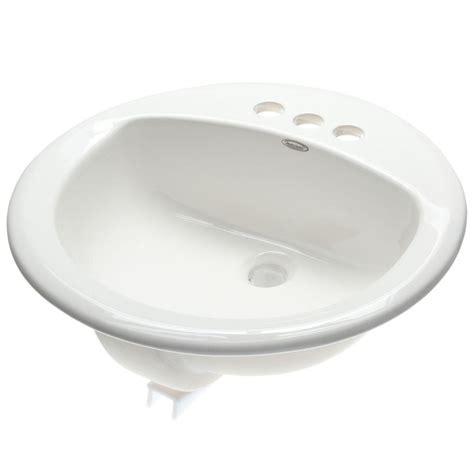 American Standard Rondalyn Selfrimming Bathroom Sink In