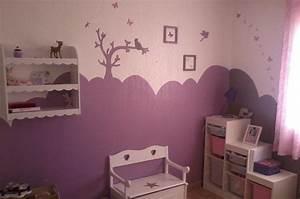 chambre petite fille rose et taupe galerie et peinture With chambre fille rose et taupe