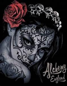 Tete De Mort Mexicaine Femme : tee shirt femme alchemy widow 39 s weed rock a gogo ~ Melissatoandfro.com Idées de Décoration
