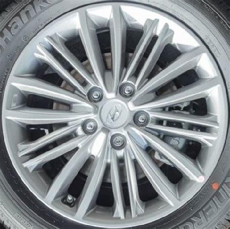 hyundai kona  oem alloy wheels midwest wheel tire