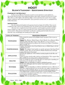 hoot lesson plans worksheets reviewed by teachers