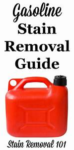 How To Remove Gasoline Stains