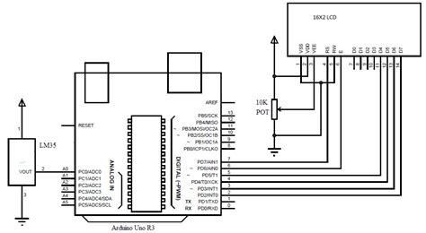 Arduino Uno Circuit Diagram Pdf by Arduino Based Digital Temperature Sensor Hackster Io