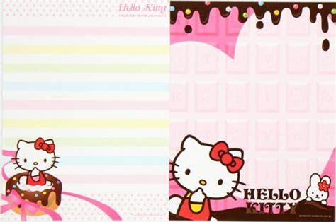 the kitty letter hello kitty letter set with cupcake from japan letter
