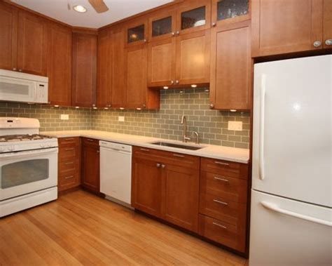 idea kitchen cabinets maple cabinets white appliances houzz 1763