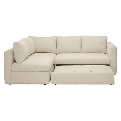 Pop Up Platform Sleeper Sofa by Oxford Pop Up Platform Sleeper Sofa With Storage Chaise