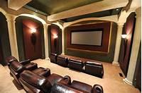 home theater design ideas 25 Top Modern Basement Design Ideas