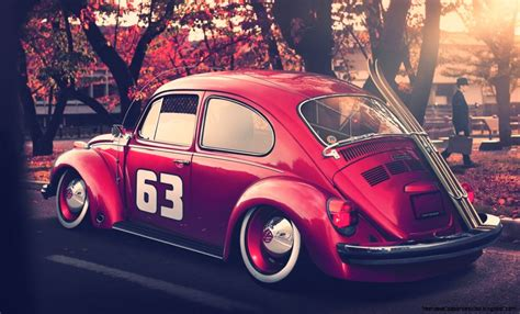 vw volkswagen beetle bug hd wallpaper free high