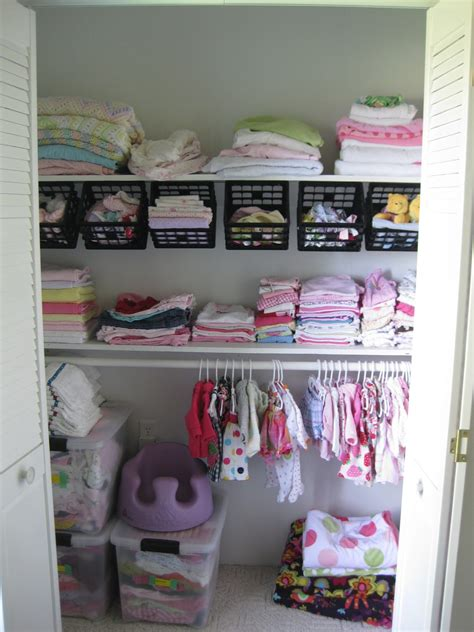 baby room organization ideas nursery closet organizational ideas reality daydream