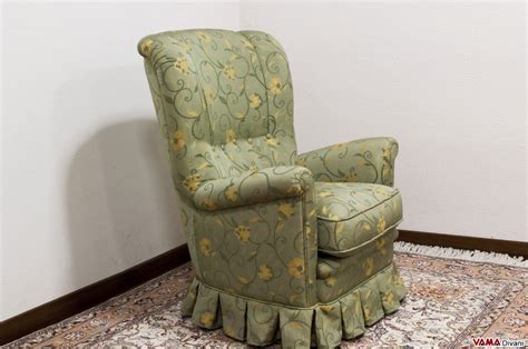 Classic Fabric Armchair With Skirt For Your Bedroom