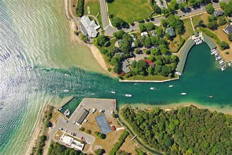 Round Lake Mi Boat Launch by Round Lake Inlet In Charlevoix Mi United States Inlet