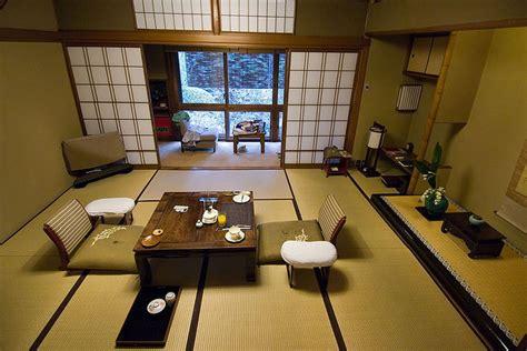 interieur maison japonaise traditionnelle du japon et