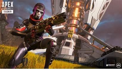 Apex Legends Battle Pass Wallpapers Wraith 4k