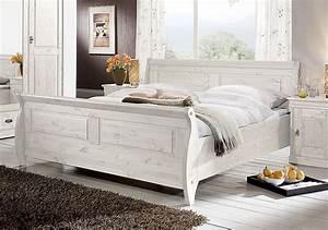Bett Weiß Massiv 180x200 : bett 180x200 kiefer massiv wei lasiert ~ Bigdaddyawards.com Haus und Dekorationen