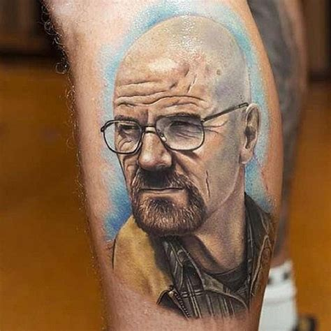 awesome realistic tattoos walter white