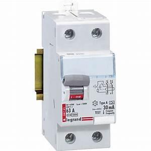 Type A Ou Ac : interrupteur diff rentiel legrand 30ma 63aa leroy merlin ~ Dailycaller-alerts.com Idées de Décoration