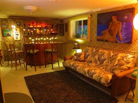 Build A Tiki Bar by Building A Basement Tiki Lounge Childfreelifeadventures