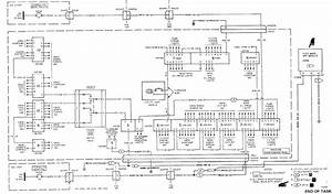 Maintenance Panel Power Distribution Wiring Diagram